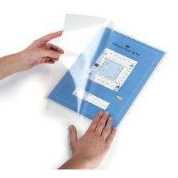 Cf.10 buste autoplastif. manuali A4 Durable