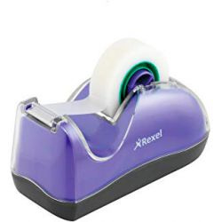 Dispenser da tavolo 30mt  Linea Joy Rexel viola