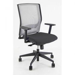 Sedia Semidirezionale ergonomica X2 Unisit nera con braccioli