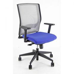 Sedia Semidirezionale ergonomica X2 Unisit BLU con braccioli