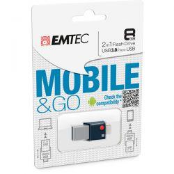 Pen Drive MobileandGo T200 USB3-micro  8GB Emtec